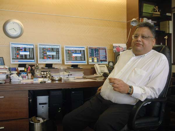 Rakesh Jhunjhunwala - Trading Stocks in India